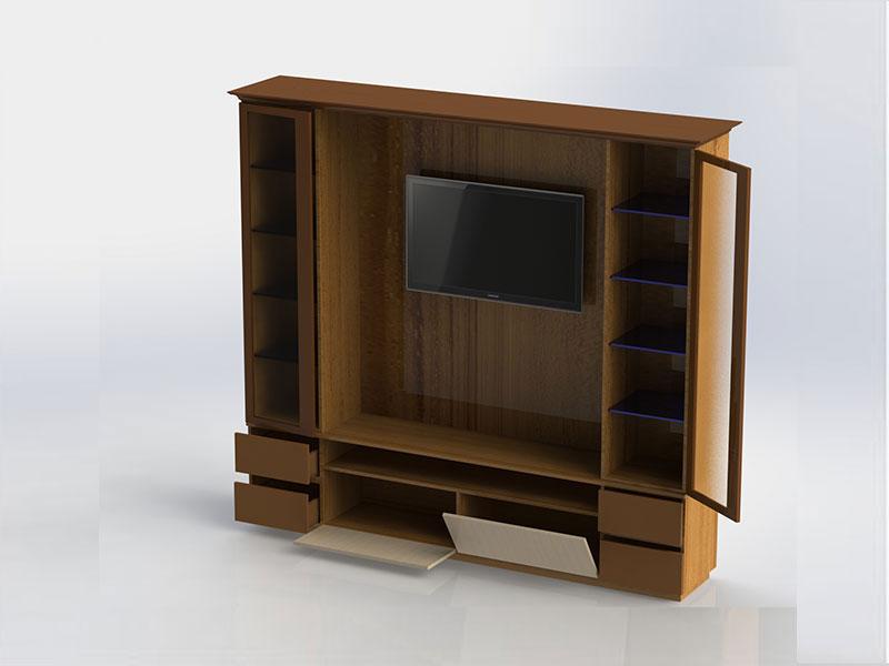 T V Showcase Ganesh Furniture Surat Gujarat
